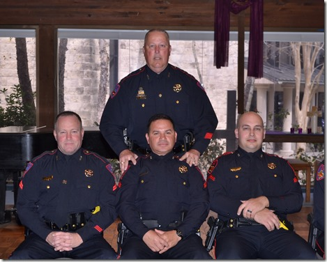 3 New Sergeants Promoted