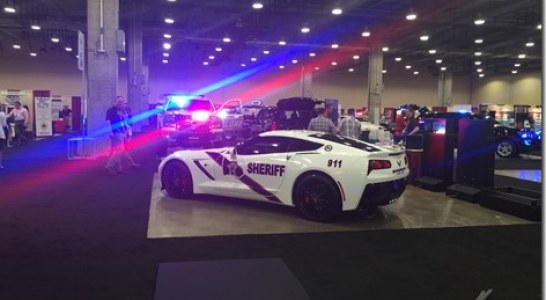 SAY GOOD-BYE TO THE MONTGOMERY COUNTY SHERIFF'S OFFICE CORVETTE