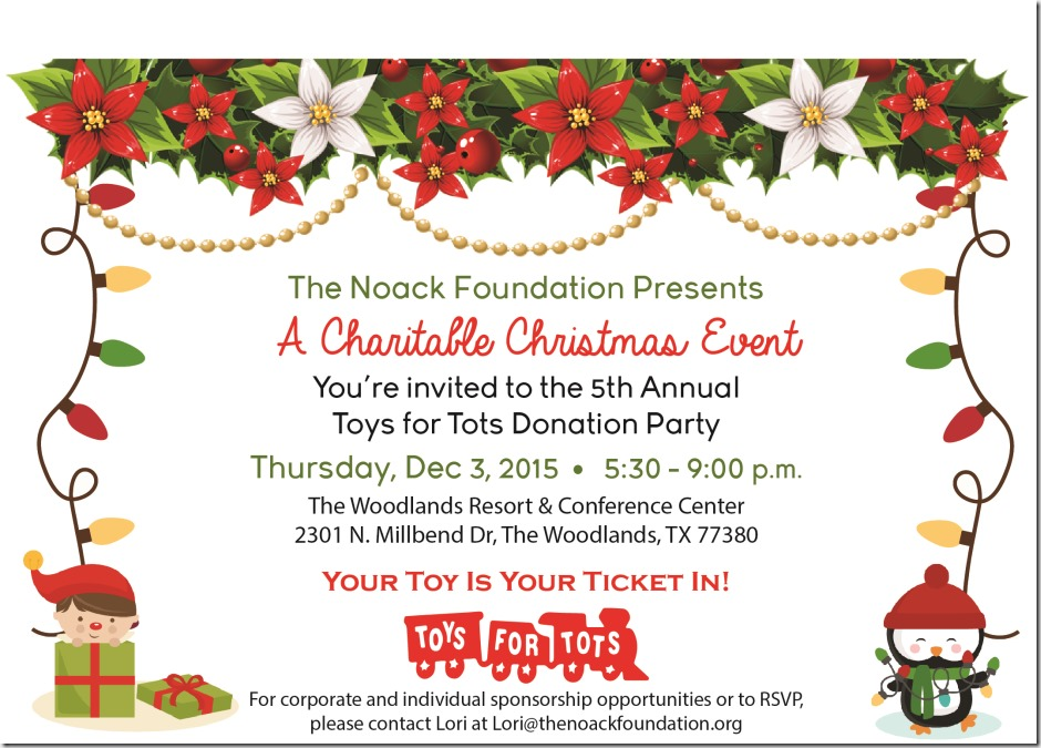 Announcement Email Sample Toys For Tots : Toys for tots tonight in the woodlands montgomery county
