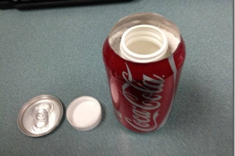 CPD FINDS METH IN COKE CAN