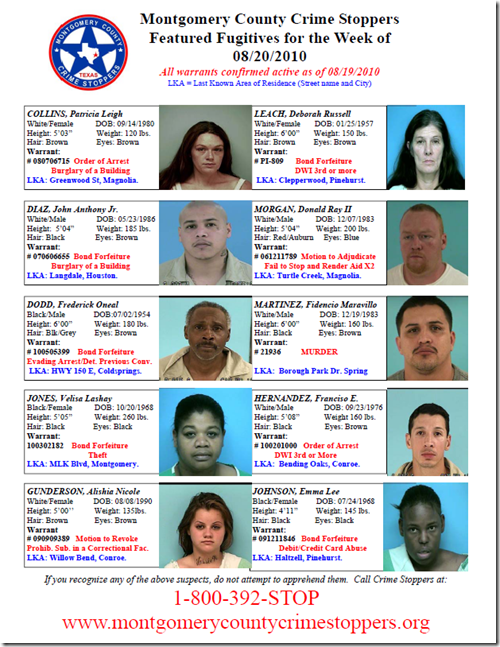 MAKE SOME QUICK CASH-CALL CRIME STOPPERS | Montgomery County Police