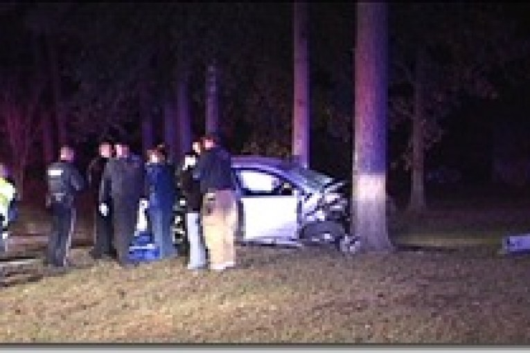 IMPAIRED DRIVER CRASHES INTO TREE