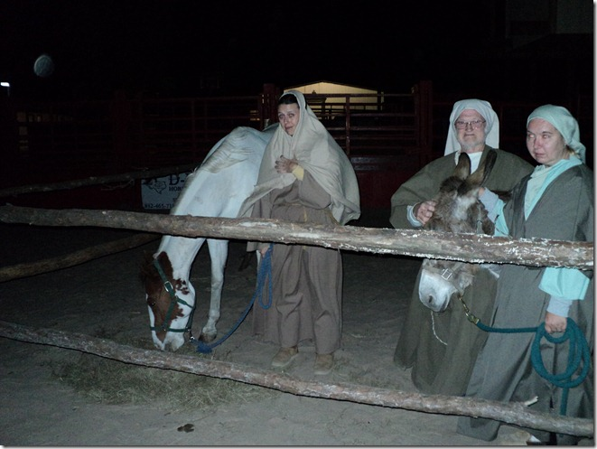 CANEY CREEK COWBOY CHURCH OFFERS A LIVE NATIVITY SCENE THROUGH FRIDAY