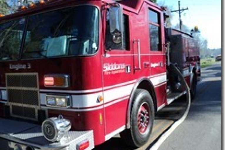 fire destroys grangerland garage