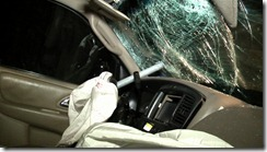 vehicle strikes utlilty pole-driver critical