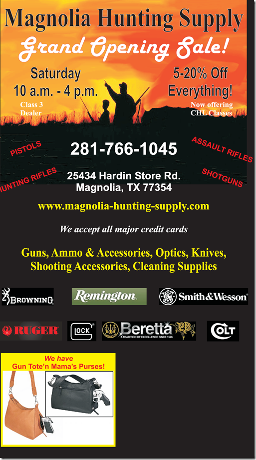 magnolia hunting supply grand opening today