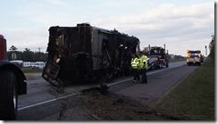FATAL ACCIDENT NORTH OF SPLENDORA TIES TRAFFIC UP FOR 7 HOURS