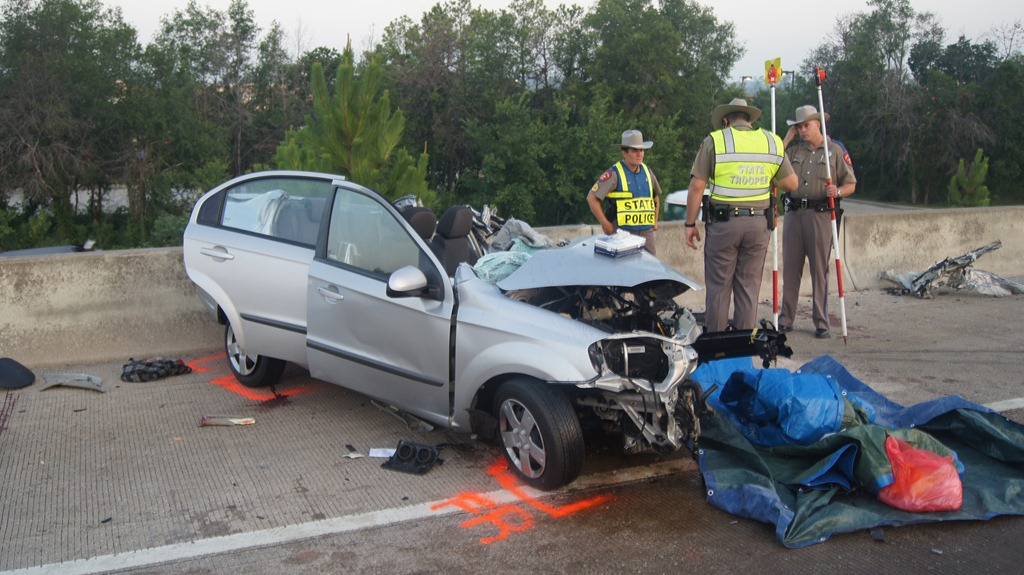 DRIVER OF FATAL DOUBLE CRASH IN CUSTODY – Montgomery County