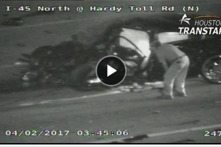 NEW VIDEO SHOWS WRONG WAY DRIVER JUST BEFORE CRASH THAT KILLED 3