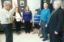 LIBERTY COUNTY SHERIFF RADER SWEARS IN TWO NEW RESERVE DEPUTIES