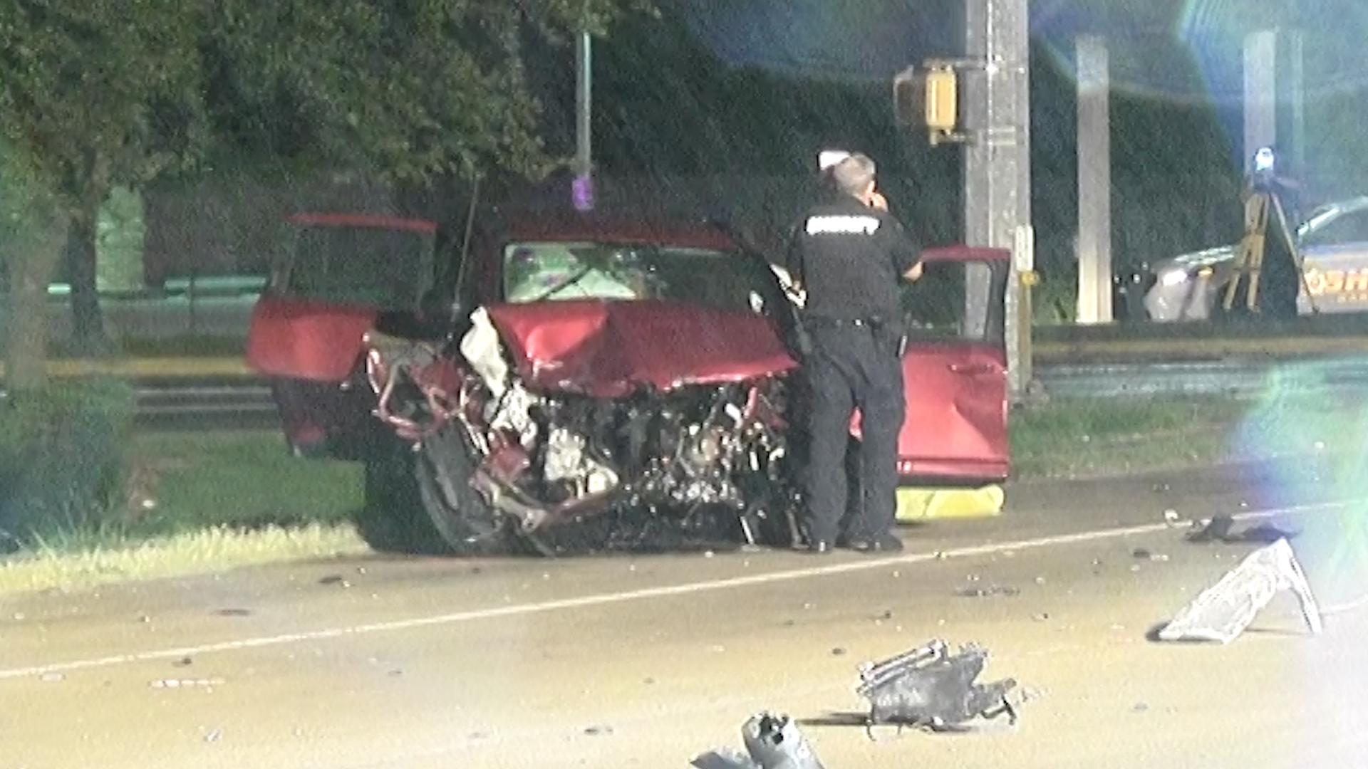 DRUNK DRIVER CAUSES FATAL CRASH