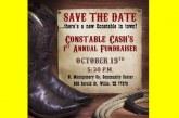 Cash's Fundraiser Rescheduled