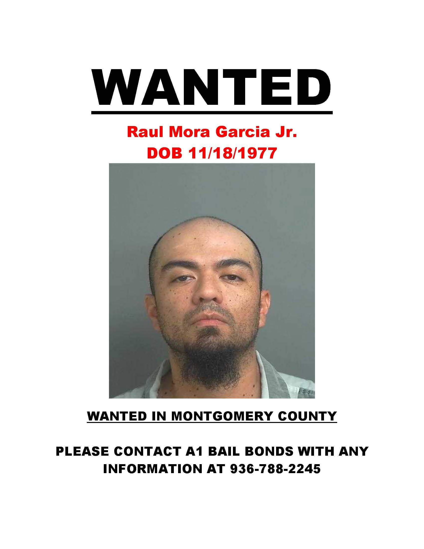 WANTED IN MONTGOMERY COUNTY