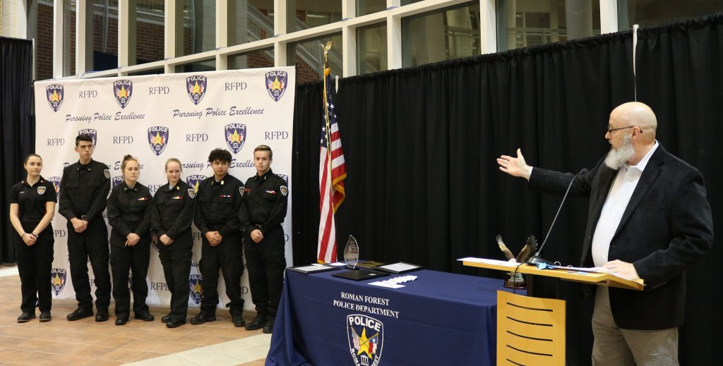 Roman Forest Police Awards 2018 | Montgomery County Police Reporter