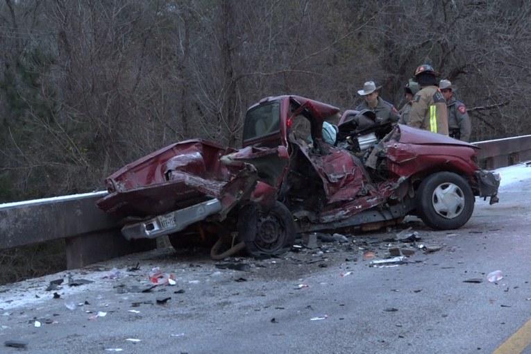 DRIVER IDENTIFIED IN SH 105 FATAL CRASH
