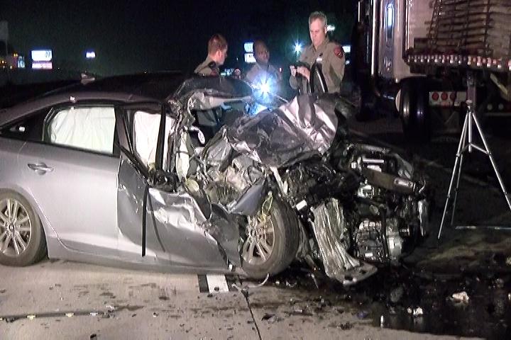 FATAL CRASH ON I-45