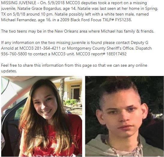 UPDATE: JUVENILES RECOVERED