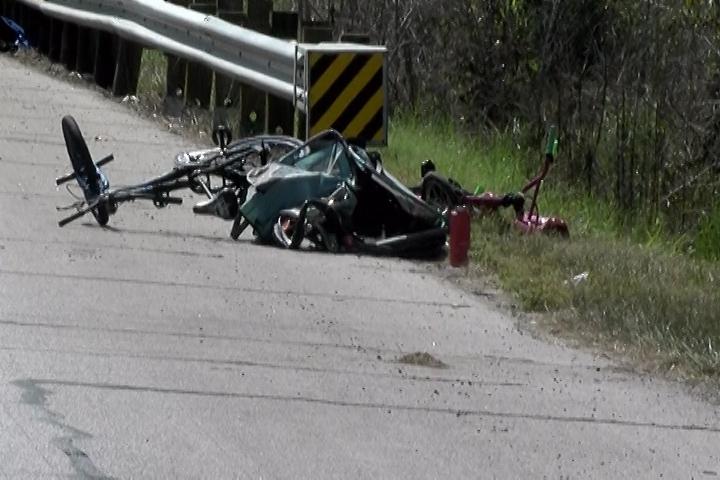FATAL CRASH ON SH 105 EAST