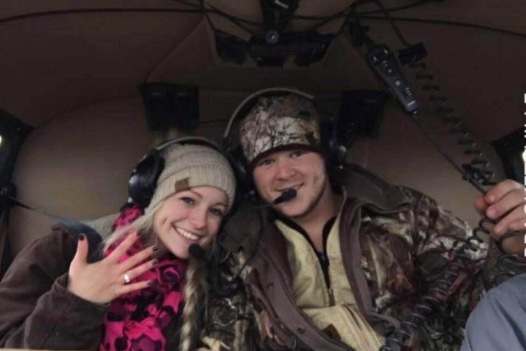 SAM HOUSTON STATE NEWLYWEDS KILLED IN HELICOPTER CRASH HOURS