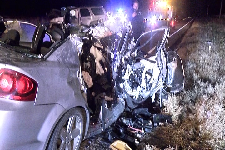 THREE DEAD IN LIBERTY COUNTY CRASH INCLUDING TWO CHILDREN