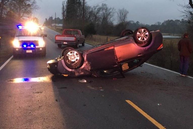 CALVARY ROAD CLOSED DUE TO CRASH
