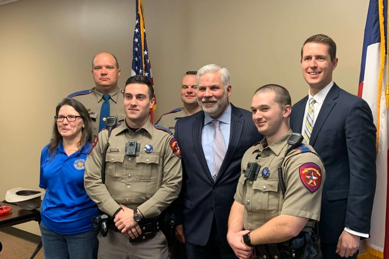 MONTGOMERY COUNTY DISTRICT ATTORNEYS OFFICE 2019 DWI AWARDS