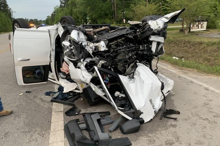 OVERNIGHT DOUBLE FATAL CRASH ON FM 1485