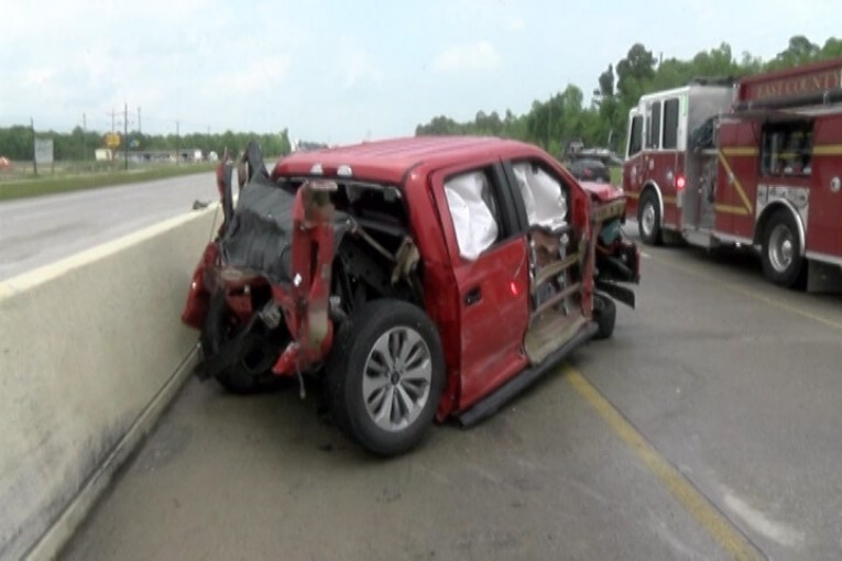 FATAL CRASH CLEARS ON US 59 IN SPLENDORA