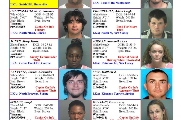 CRIME STOPPERS FEATURED FELONS 5/10/19