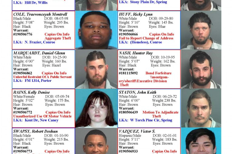 Most Wanted | Montgomery County Police Reporter