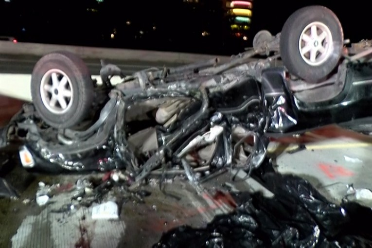 FATAL CRASH ON I-45 AT SH 242