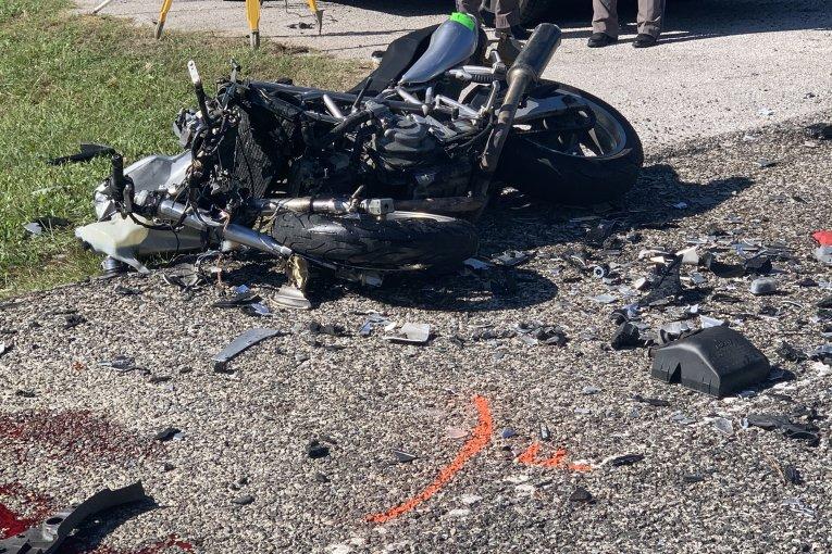 MOTORCYCLE FATAL CRASH ON SH 242
