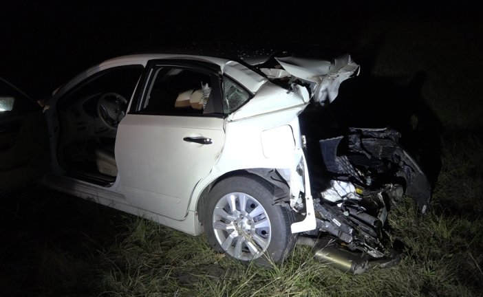 MAN DIES AFTER VEHICLE SLAMS INTO THE REAR OF HIS VEHICLE ON SH 242