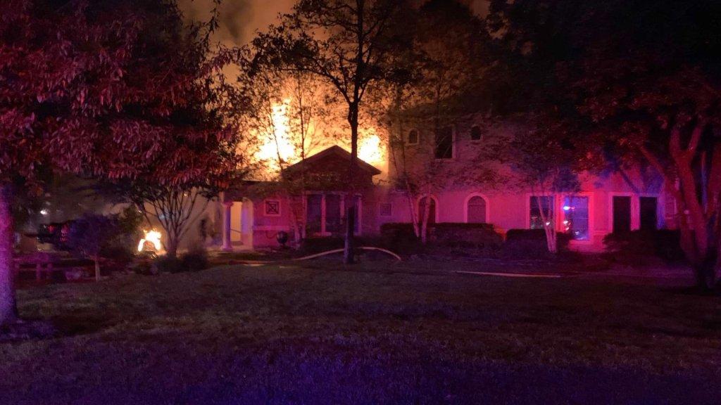 Benders Landing 3 Alarm House Fire Montgomery County Police Reporter