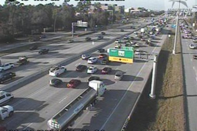 SEVERAL CRASHES HAVE I-45 AT A STAND STILL