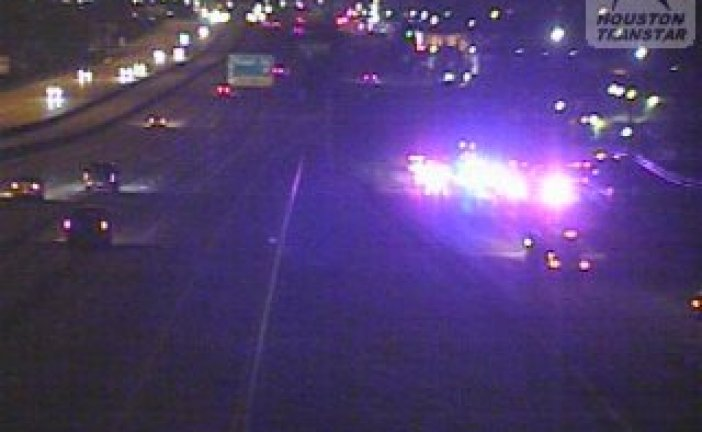 UPDATE-MAN KILLED CHANGING TIRE ON EASTEX FREEWAY