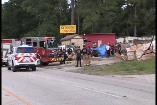 VEHICLE LOSES CONTROL CRASHES INTO BUILDING-2 DEAD