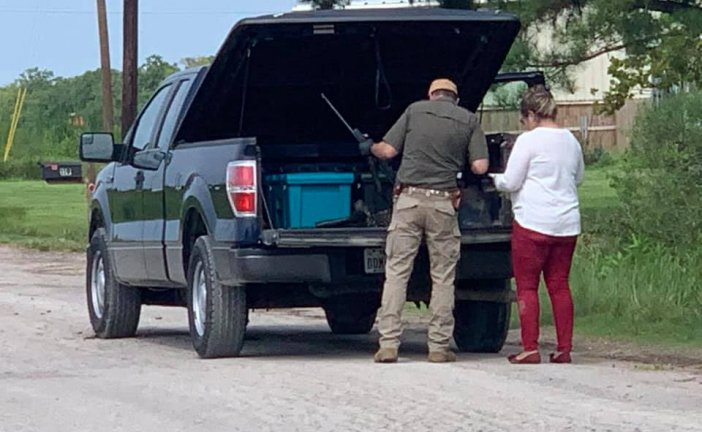 FIVE SHOT-THREE DEAD IN LIBERTY COUNTY