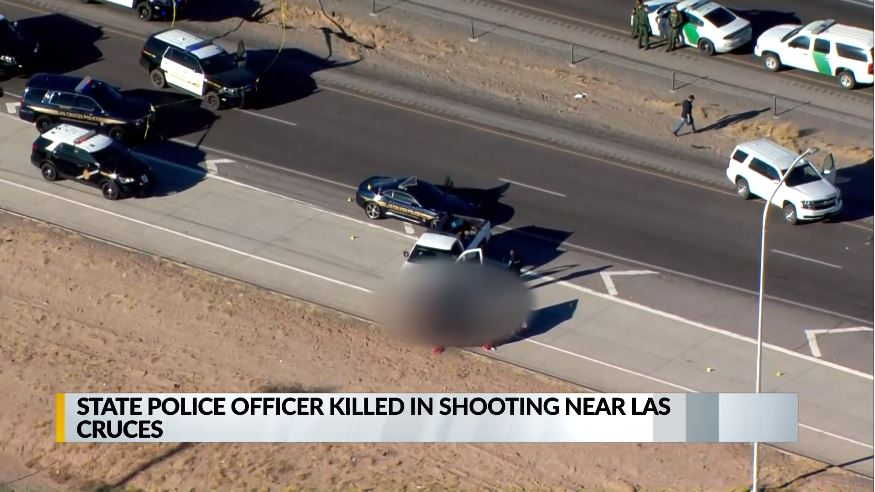 NEW MEXICO OFFICER KILLED SEVERAL OTHERS INJURED IN I 10