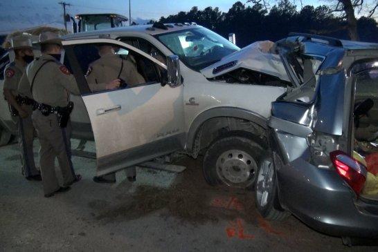 FATAL CRASH ON SH105