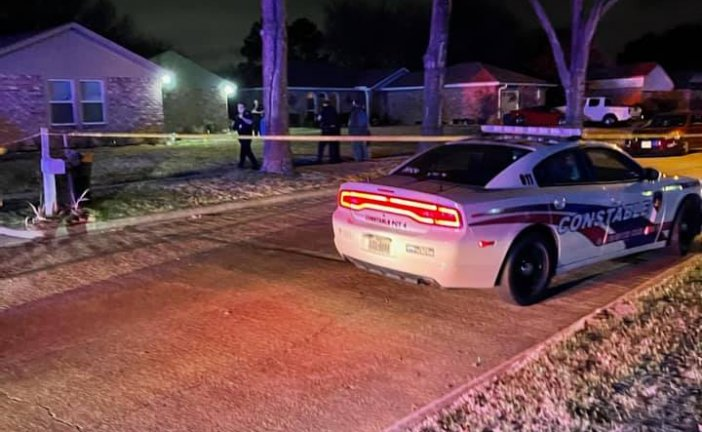 SHOOTER IN NW HARRIS COUNTY STILL ON THE RUN