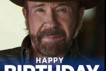 Chuck Norris' 81st birthday celebrated by his Navasota neighbors