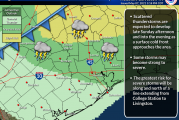 Slight Risk of Severe Storms for Sunday 05/09
