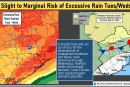 Strong storms and heavy rain possible through Wednesday