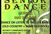 SENIOR DANCE TONIGHT