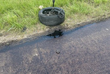 I-45 LANES HAVE REOPENED AFTER AN OIL SPILL
