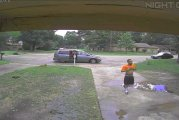 CONROE POLICE LOOKING FOR THIEF WHO STOLE COMPRESSOR