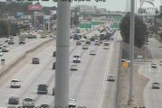 HAZMAT SCENE CLOSES LANES ON I-45