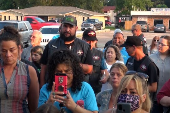 072121 PRAYER VIGIL FOR NEW CANEY FAMILY HIT BY WRONG WAY DRIVER SUNDAY MORNING KILLING ONE BOY.00_09_45_08.Still011