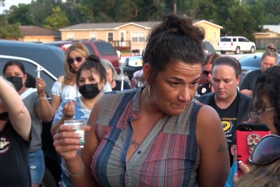 072121 PRAYER VIGIL FOR NEW CANEY FAMILY HIT BY WRONG WAY DRIVER SUNDAY MORNING KILLING ONE BOY.00_18_01_03.Still018